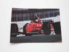 Ansichtkaart Formule 1 JBrazilie 1996 Schumacher