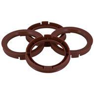 Centreer ring set 67.1->63.4mm Bruin