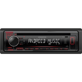 Kenwood KDC-152R Radio, CD, USB, AUX