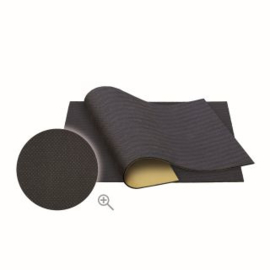 Isolatie Rubber Plakmat Zwart 50x50cm (matstructuur-zacht)