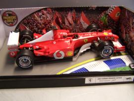 Ferrari F1 Premiere 2003 Michael Schumacher