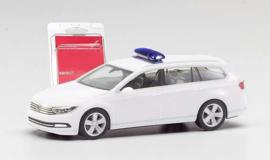 VW Passat Variant, wit (Minikit) - 1:87