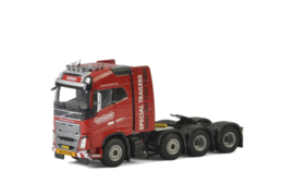 KNT Red Line; VOLVO FH4 GLOBETROTTER 8x4