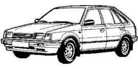 Mazda 323 1985-1989