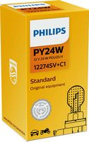 Lamp PY24W Zilver
