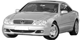 Mercedes CL C215 1999-2006