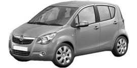 Opel Agila 2008-2015