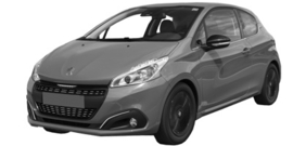 Peugeot 208 2015-2020
