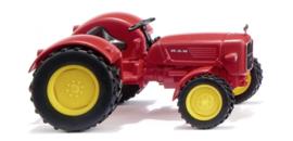Tractor MAN 4R3 verkeersrood