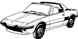 Fiat X1/9 1973-1986