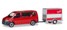 VW T6 Bus + aanhanger Herpa