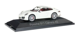Porsche 911 Carrera 4 S Coupe, wit  Herpa