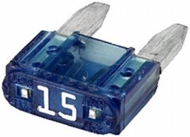 Mini steekzekering 15 A