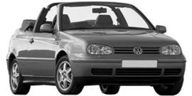 Volkswagen Golf Cabrio 8/1997- 2002