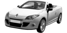 Renault Megane CC vanaf 04/2010+