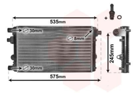 Radiateur Fiat Seicento