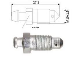Ontluchtingsnippel M10x1,5x27.1