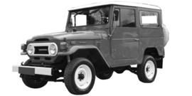 Toyota Landcruiser J4 1969-1986