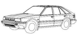 Nissan Bluebird 1986-1990 T12