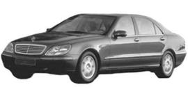 Mercedes S W220 1998-2009/05
