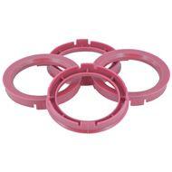 Centreer ring set 67.1->64.1mm Roze