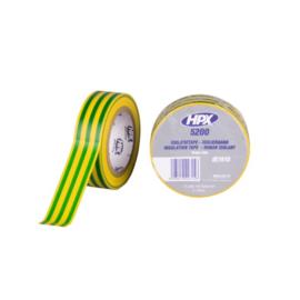 Isolation Tape Geel/Groen 19 mm x 10 Meter
