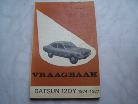 Vraagbaak Datsun / Nissan 120Y  1974-1977