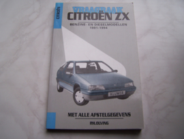 Vraagbaak Citroen ZX 1991-1994