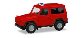 013086  Herpa MiniKit: Mercedes-Benz G-class, red