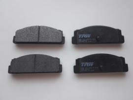 Set Remblokken Fiat X1/9 Achterzijde