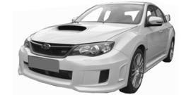 Subaru WRX  vanaf 07/2011+
