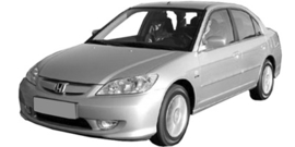 Honda Civic 2003-2005 3/5 deurs