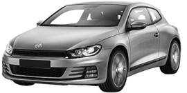 Volkswagen Scirocco vanaf 09/2014