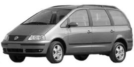 Volkswagen Sharan 04/2000 -06/2010