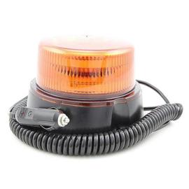 LED ZWAAI/FLITSLAMP ORANJE 1 PATROON MAGNEETMONTAGE