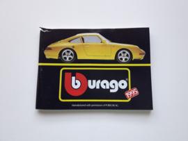 Minicatalogus Bburago 1995