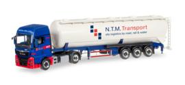"MAN TGX XXL silo semitrailer ""NTM"" (NL)"