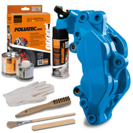 Foliatec Remklauwlakset - GT blauw - 3 Componenten