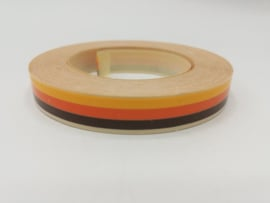 Sierbies 9mm Bruin / Oranje / Geel