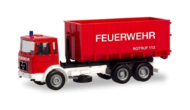 MAN F8 Afzetcontainerl.LKW Feuerwehr