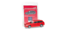 Modelauto BMW 3 Serie Touring E91, red Herpa Minikit 1:87