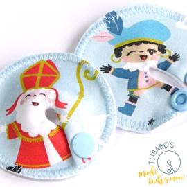 """""""Sint & Piet"""" set van 2 g/j sondepads"""