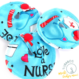 """Love a Nurse"" 1 g/j tube pad"