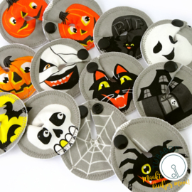 """Halloween feest"" 2 g/j tube pads"