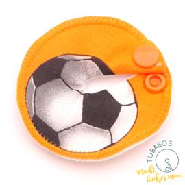 """Voetbal oranje"" 1 g/j sondepad"