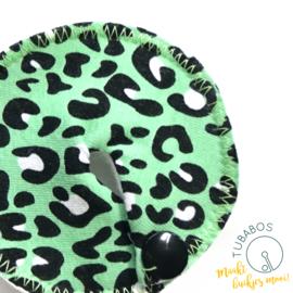 """Luipaardprint groen"" 1 g/j sondepad"