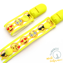"1 Roll up clip ""Emoticons"""