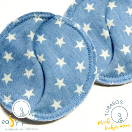"""Denim Stars"" 1 Easy Pad"