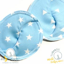 """""""Hemelsblauw Easy Pad"""" set van 2 Easy Pads"""