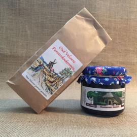 Oud Veluwse pannenkoekenmix en bosbessenkaneeljam